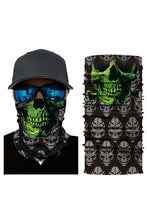 Load image into Gallery viewer, Vendetta Skull Head Scarf Face Mask