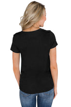 Load image into Gallery viewer, Black Home Grown Short Sleeve Tee Top