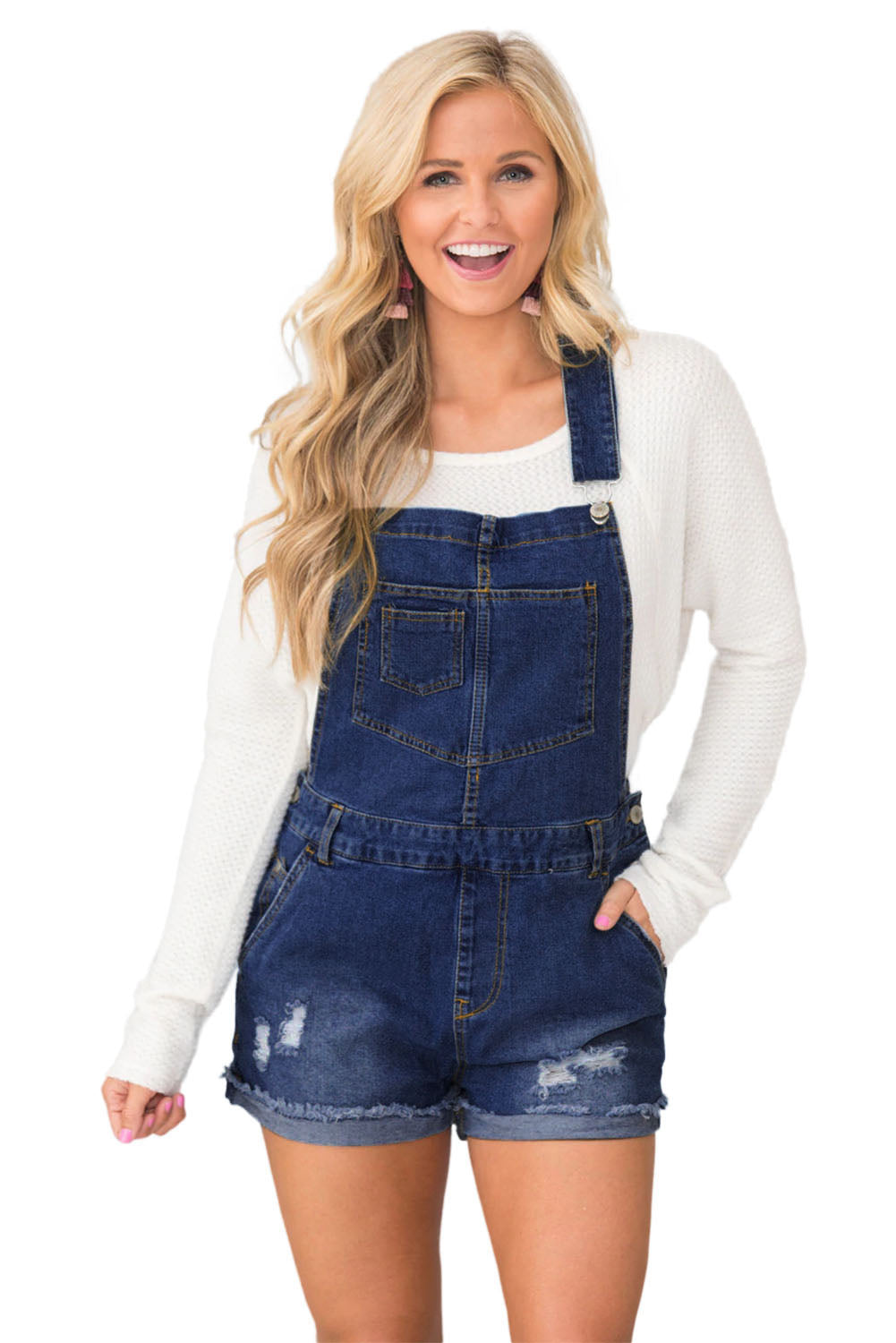 In Love With Summer Denim Overalls