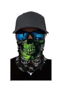 Vendetta Skull Head Scarf Face Mask