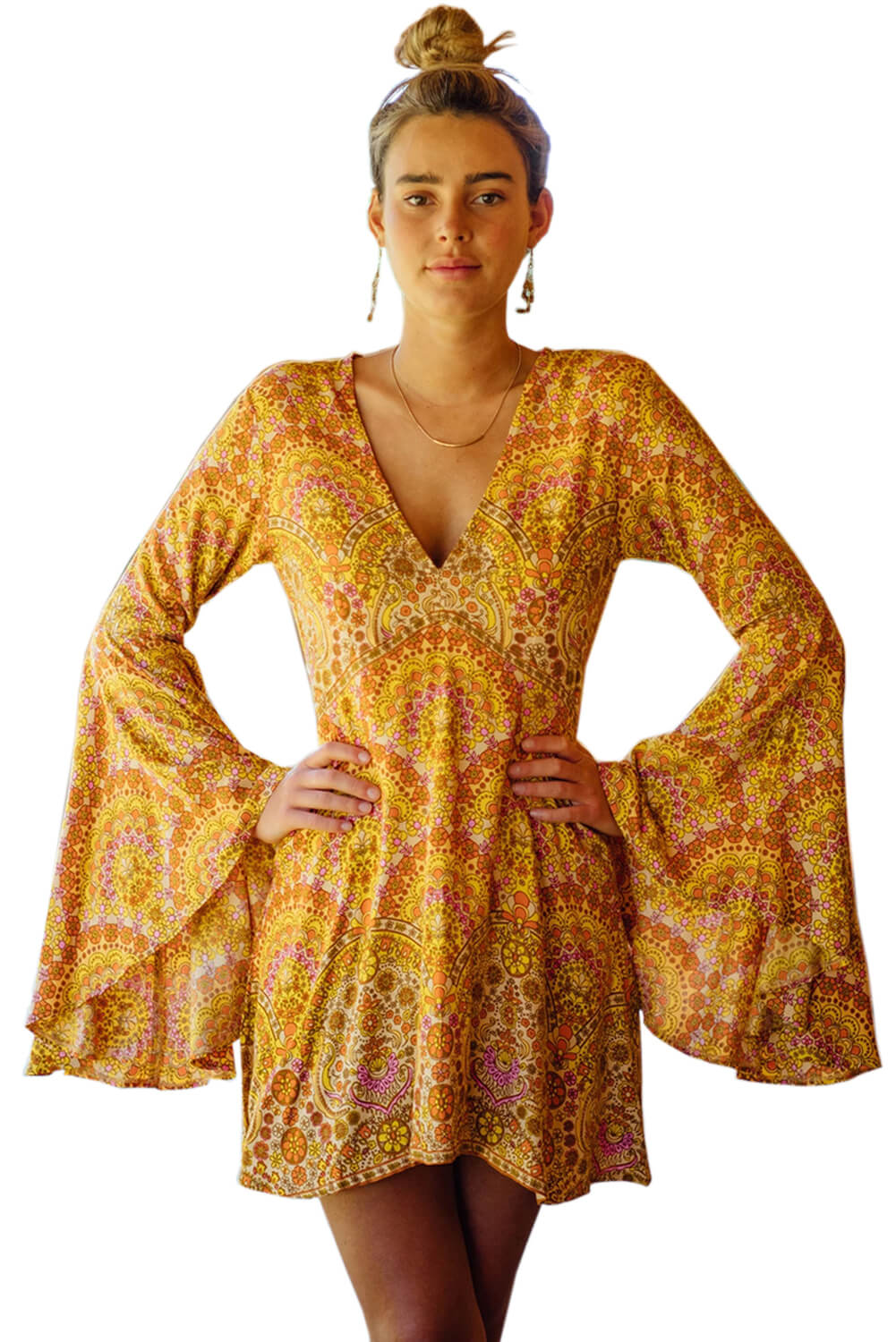 Yellow Venus Dress in Sun