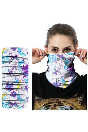 -20 Leopard Print Outdoor Cycling Sport Headscarf Neckerchief Face Mask