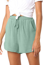 Load image into Gallery viewer, Green Summer Casual Shorts
