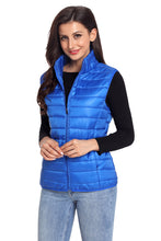 Load image into Gallery viewer, Royal Blue Quilted Cotton Down Vest
