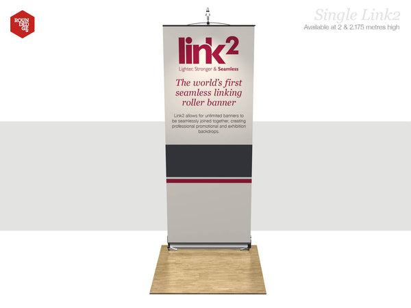 Link2 - Single Banner - Rounded Edge Store