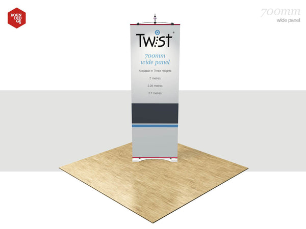 Twist Graphic Panels - Rounded Edge Store