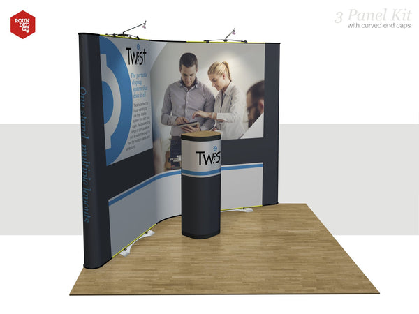 Twist - 3 Panel Kit (Panel Design Included) - Rounded Edge Store