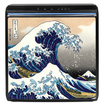 A3 air purifier with The Great Wave design