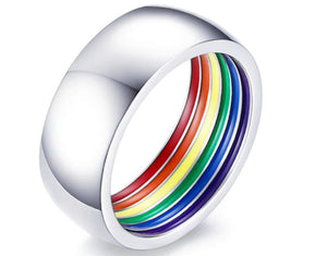 Inner Pride Rainbow Ring