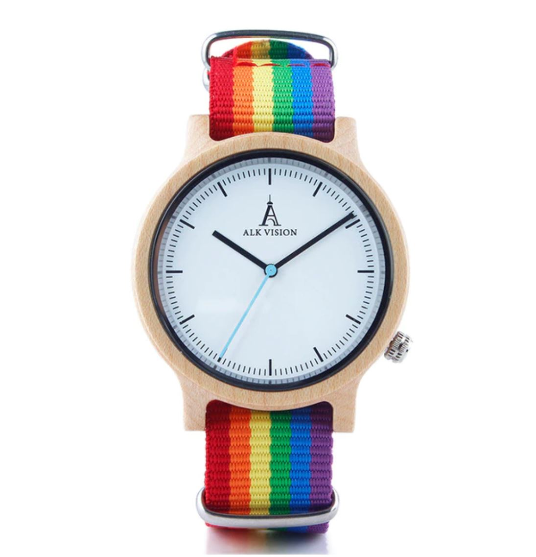 Rainbow Wood Watch (Limited Stock)