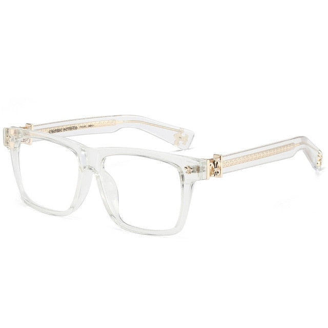 ZT Acetate Square Glasses Frame Women Men Eyewear Lunette De Vue Vintage Myopia Prescription Eyeglasses