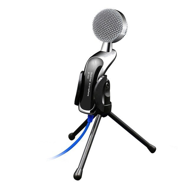 SF-922B Professional Sound USB Condenser Microphone Podcast Studio For PC Laptop Chatting Audio Recording Condenser KTV Mic