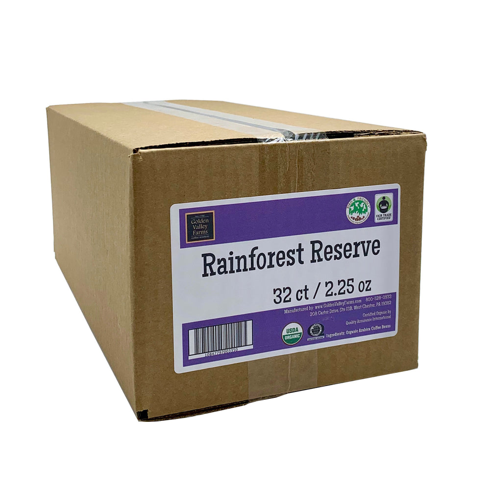 Rainforest Reserve Food Service Case