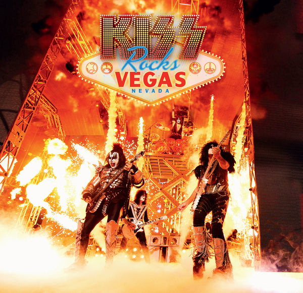 KISS ROCKS VEGAS - Double Vinyle + DVD