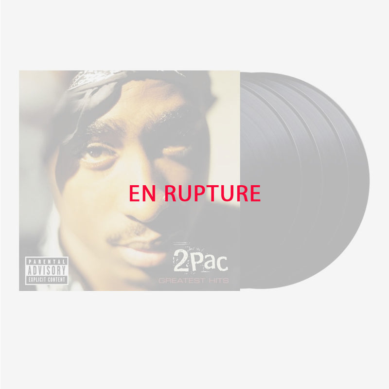 2Pac - Greatest Hits - 4 Vinyles
