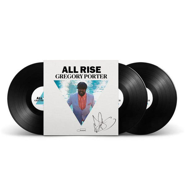 Gregory Porter - All Rise - Triple Vinyle Audiophile Dédicacé