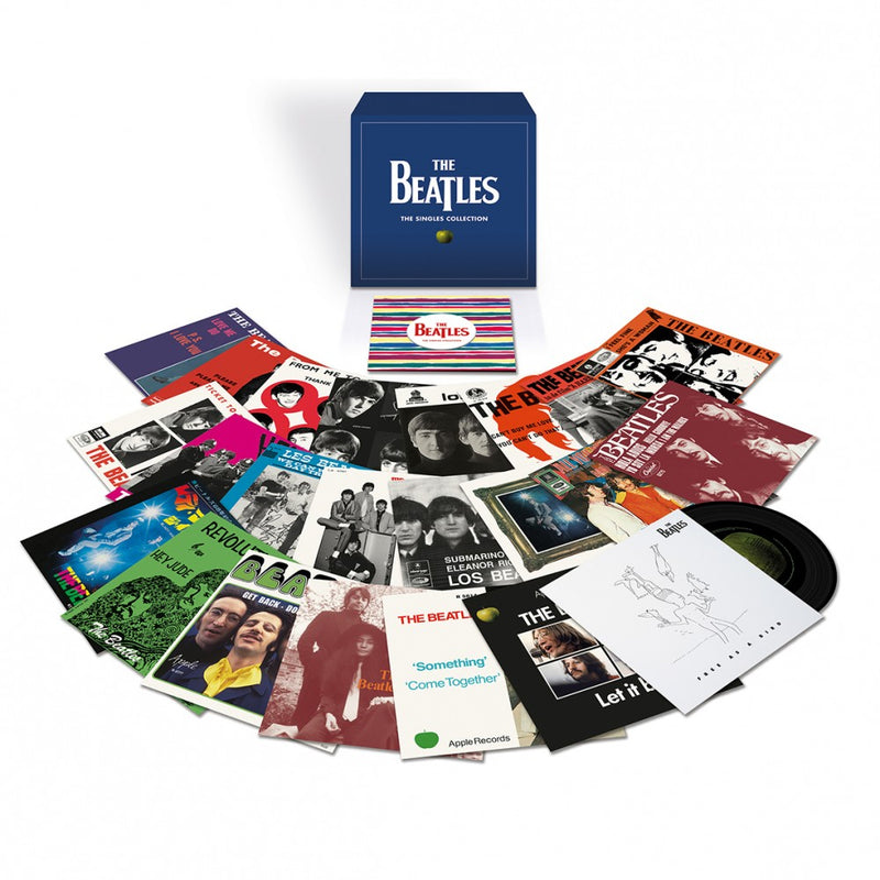 The Beatles - The Singles Collection - Coffret 23 x 45T