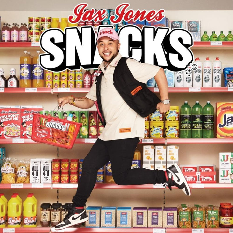 Jax Jones - Snacks (Supersize) - Double Vinyle jaune