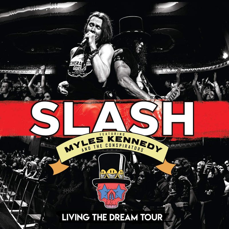 Slash - Living The Dream Tour - Triple Vinyle