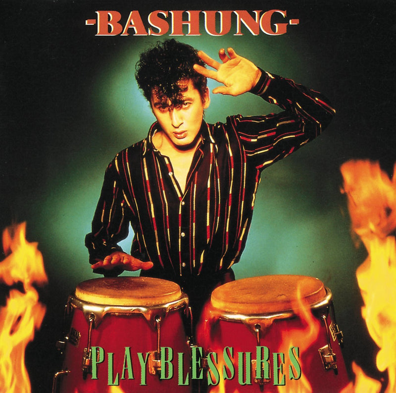 ALAIN BASHUNG - Play Blessures - VINYLE COULEUR