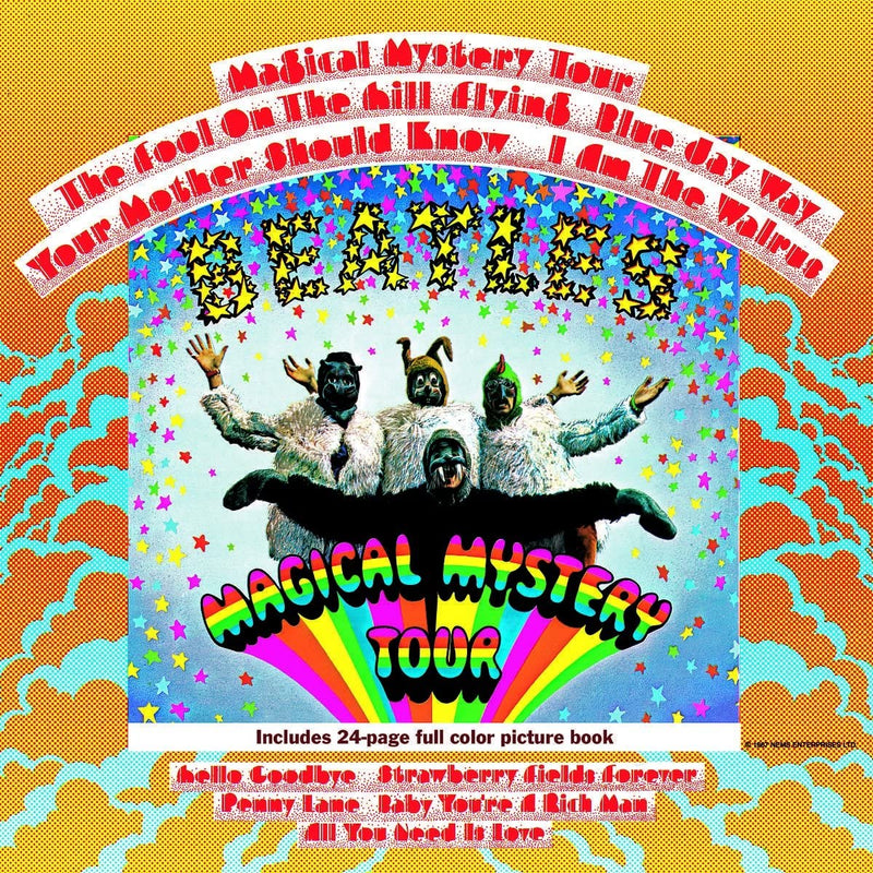 The Beatles - Magical Mystery Tour - Vinyle