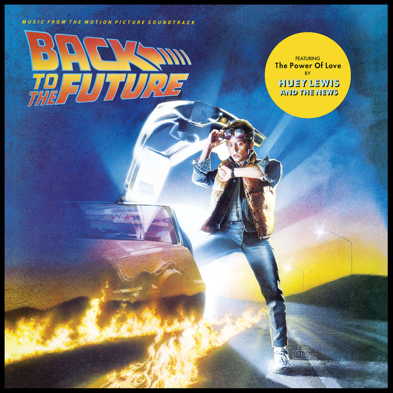 Back To The Future - Music From The Motion Picture Soundtrack - Vinyle