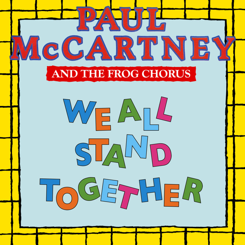 Paul McCartney And The Frog Chorus - We All Stand Together - 45T Picture vinyle