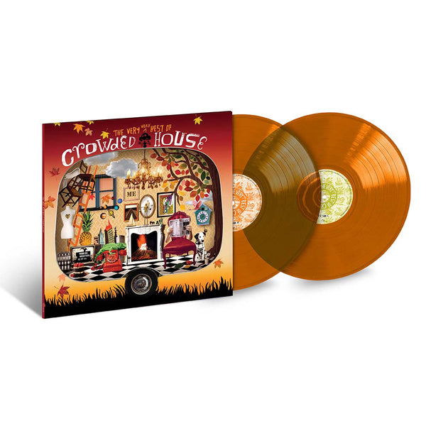 Crowded House - The Very Best Of - Double Vinyle Couleur