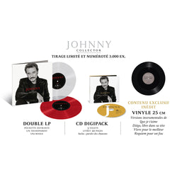 Johnny Hallyday - JOHNNY - Coffret Collector couleur (Symphonique)