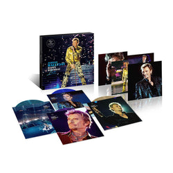 Johnny Hallyday - Happy Birthday Live - Coffret 4LP Couleur Parc de Sceaux 15.06.2000