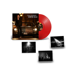Calogero - Centre Ville - Double Vinyle Rouge