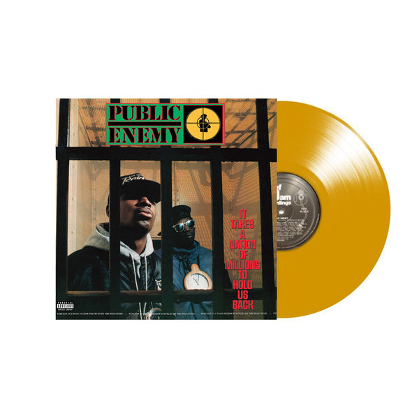 Public Enemy - It Takes A Nation Of Millions To Hold Us Back - Vinyle couleur