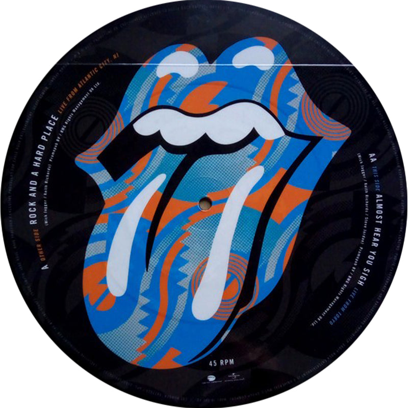 The Rolling Stones - Steel Wheels Live - 25cm Picture