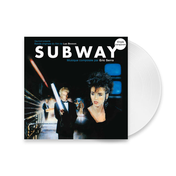 Eric Serra - Subway - Vinyle transparent