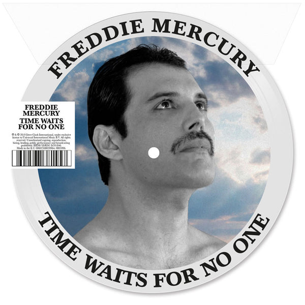Freddie Mercury - Time Waits For No One - 45T Picture Vinyle