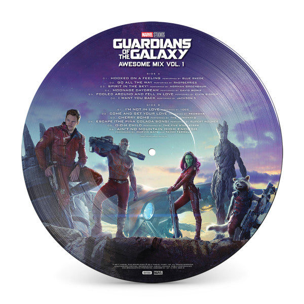 Guardians Of The Galaxy - Awesome Mix Volume 1 - Vinyle Picture
