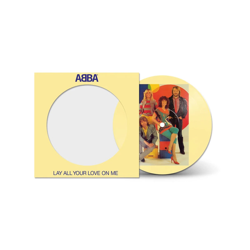 ABBA - Lay All Your Love On Me - Edition Limitée Picture