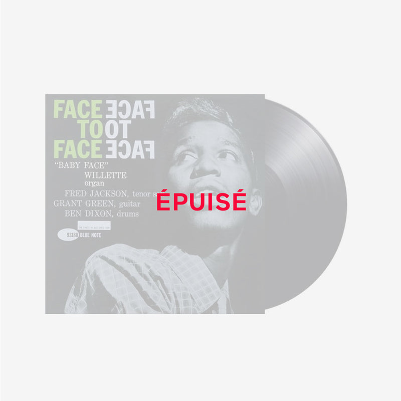 Baby Face Willette Quartet - Face To Face - Vinyle Audiophile