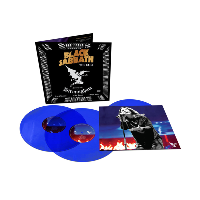 Black Sabbath - The End - Triple vinyle couleur