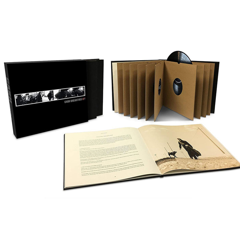 Johnny Cash - Unearthed - Coffret 9 Vinyles
