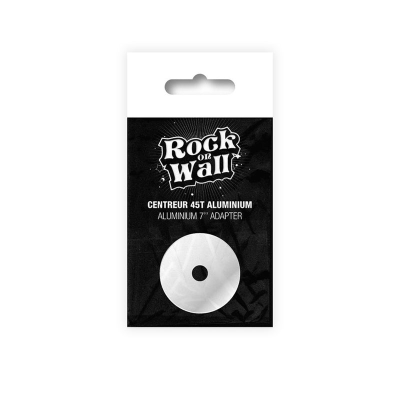 Centreur pour 45T en aluminium Rock on Wall