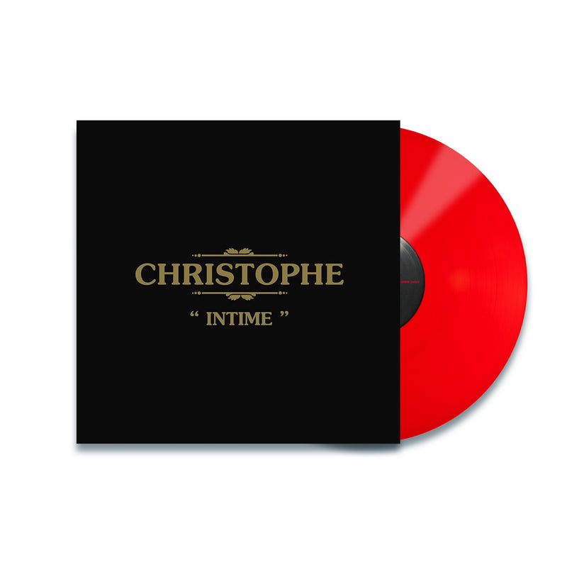 Christophe - Intime - Vinyle Rouge