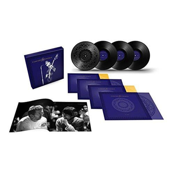 Various Artists - Concert For George - Coffret 4 Vinyles Deluxe