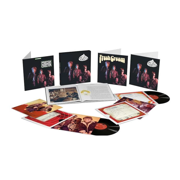 Cream - Fresh Cream - Coffret 6 Vinyles