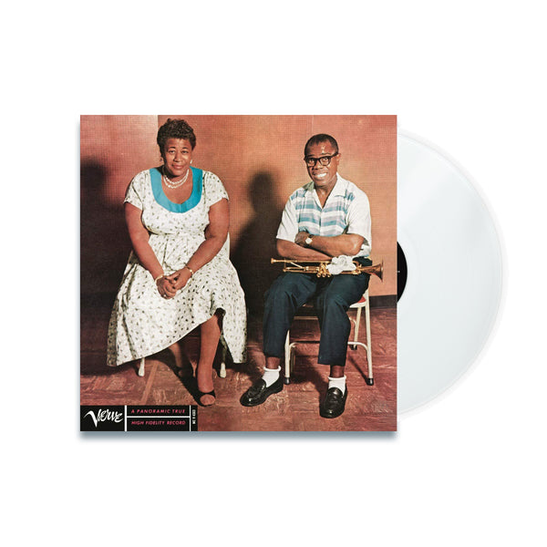 Ella Fitzgerald & Louis Armstrong - Ella And Louis - Vinyle Transparent