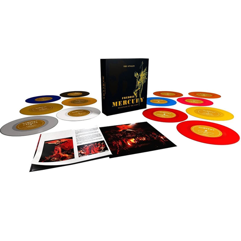 Freddie Mercury - Messenger Of The Gods: The Single Collection - Coffret 13 45T