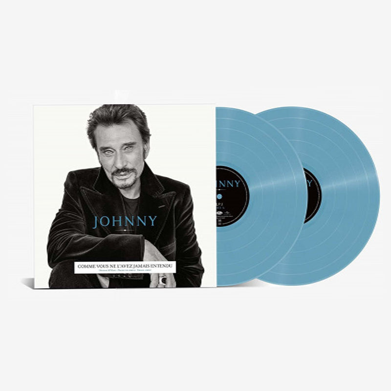Johnny Hallyday - Johnny - Double Vinyle Bleu