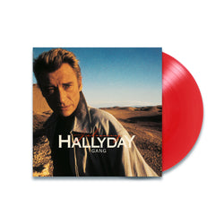 Johnny Hallyday - Gang - Vinyle Rouge