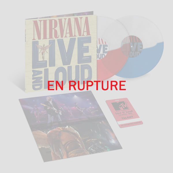 Nirvana - Live & Loud - Double Vinyle Couleur