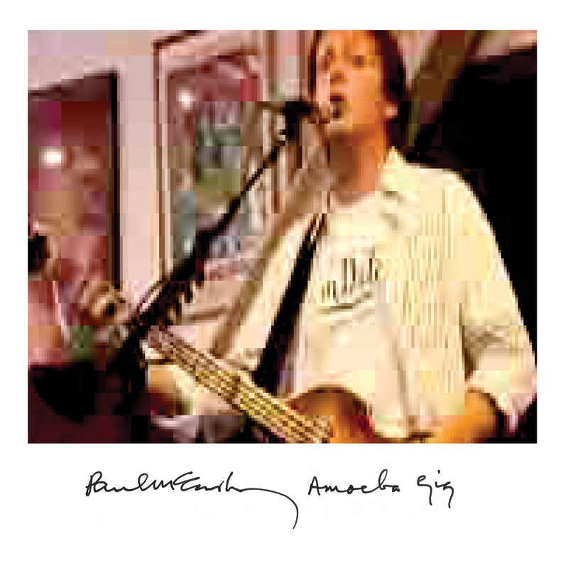 Paul McCartney - Amoeba Gig - Double Vinyle Doré et Blanc